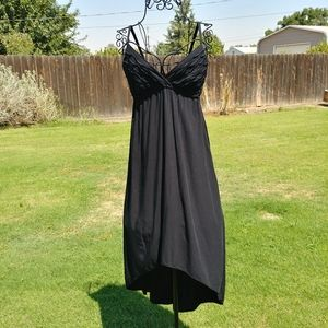 Forever 21 Dress black high-low Maxi flowy